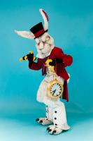 The White Rabbit by Crazy-Maizy