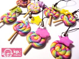 straps lollipops by KPcharms