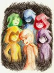 The Six Sages by SuperheroGeek13