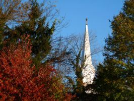 Church Steeple by PUBLIC-DOMAIN-PICS