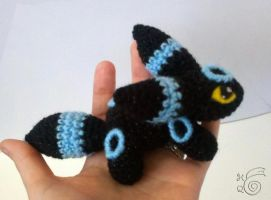 Teenie Beanie Umbreon SHINY by TheHarley