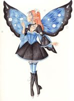 Gothic Lolita fairy, take2 by phoenix-feather