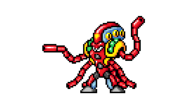 Launch Octopus Sprite HD by CalaveraIsAwesome22