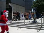 AX11: Garland vs..Santa?? o.o' by Sonicbandicoot