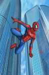 Spiderman Swings by albieart