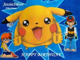 HAPPY BIRTHDAY by Ash-Misty-Pikachu