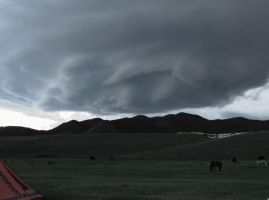 storm mongolia by aggix