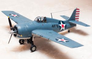 Grumman F4F-4 Wildcat Completed by AEisnor