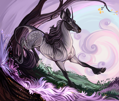 Mayako|Glenmore Doe|Mother Willow by carnivaleart