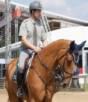 Ridden Chestnut Horse Stock 3 by TheArtisticChoice