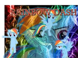 Rainbow awesome and swag by veeyaneeh