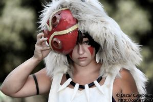 Princess Mononoke by meanlilkitty