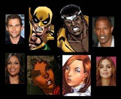 Power Man and Iron Fist Movie by Lordwormm