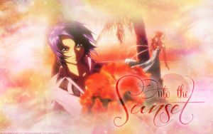 Athrun and Cagalli Desktop Wallpaper by ethie-chan