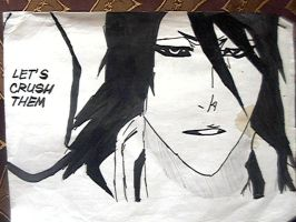 Byakuya Kuchiki (Chapter 495) by annaxichigo