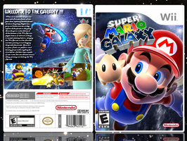 Super Mario Galaxy boxart by yoman44
