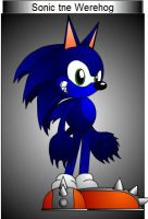 Sonic the Werehog by sonicfan40