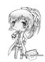 Rei in Chibi by Evangeline-Louise