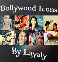 Misc Bollywood Icons by layaly