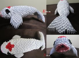 3D Origami - Koi by Jobe3DO