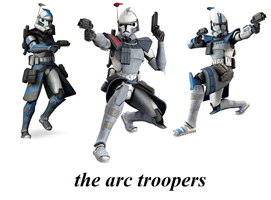 the arc troopers by guy191184