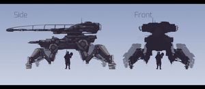 Industrial Mech Concept by jusmiArt