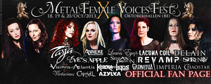 Metal Female Voices Fest ~Official Fan Page Cover by brockscence