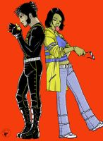 Logan and Jubilee by chosen-1