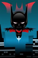 Lil Batman Beyond by xashe