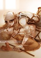 Shingeki no Kyojin - At Day's End - Eruri by Lehanan