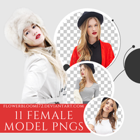Female Model PNG Pack 1 by FlowerBloom172