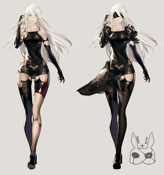 Nier: Automata A2 - RE-IMAGINATED by ProxyBunny