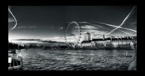 London Eye by Elvazur