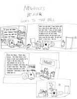 Neurosis Beaver Goes To The Mall by anarchisticmoosebear
