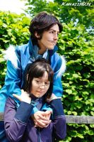 Varrick and Zhu Li cuddle, Legend of Korra Cosplay by KawaiiHD