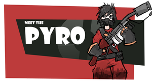TF2 Pyro Girl by CG-Sphinx