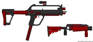 Tiko Compacter SMG ME version by HuntraG94