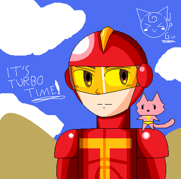 Jingle All the Way - Turbo Man by JigglyPuffGirl