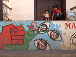 Anti U.S. Mural in Baracoa, Cuba, Jan. 2014 by vanfoto