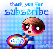 Special +400 subscribers by Thiago082
