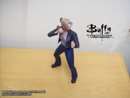 Buffy papercraft model by ninjatoespapercraft