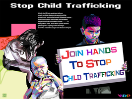 STOP CCHILD TRAFFICKING by Yusuf-Graphicoholic