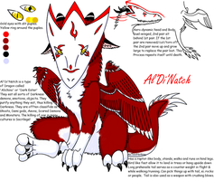 Aldinatch NEW Ref Sheet by AxTooxNothing