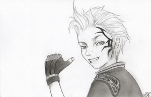 Zell - Final Fantasy VIII by Binety