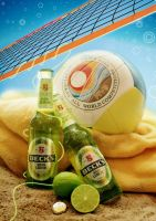 Becks Green Lemon Lifestyle by knorke