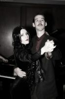 Morticia and Gomez Addams: The Masochism Tango by HarleyTheSirenxoxo