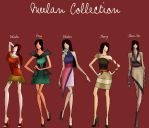 Mulan Collection by TheWhiteSwan