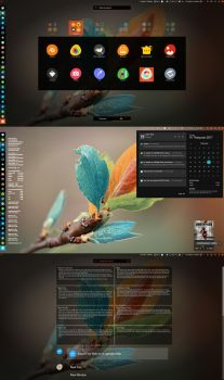 Ubuntu Style theme for gnome shell by chantrongchien1977