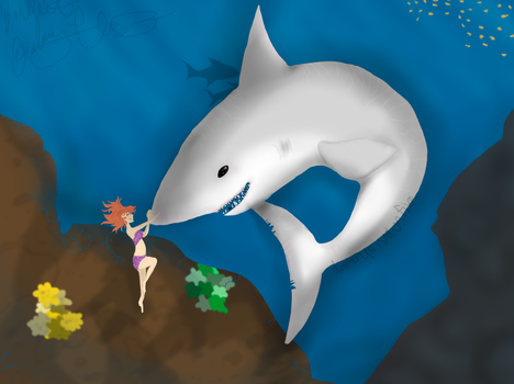 Megalodonian Sharks are a Girl's Best Friend by ArtfulDodger112