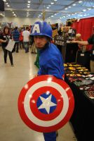 Niagara Falls Comicon 2015 - Classic Captain.A by TheWarRises